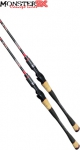 Vara Monster 3X Red Moon C631M 10-15LBS Para Carretilha