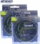 Linha Owner Broad Game Pro 0,30mm 300MTS