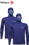 Camiseta Fishing CO Ninja - Azul Marinho